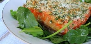 Herb Crusted Salmon Recipe