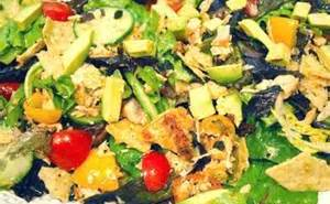 Low Carb-High Protein salad
