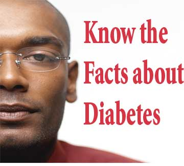 Know the facts about diabetes